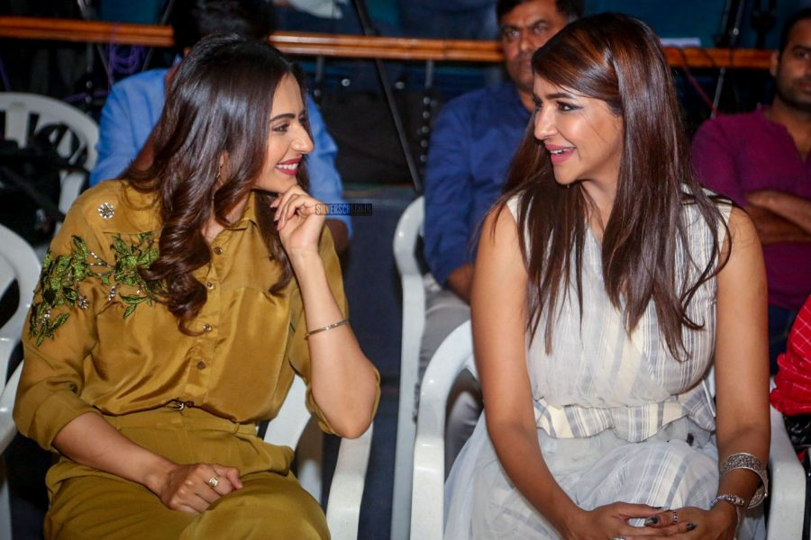 Rakul Preet Singh & Lakshmi Manchu At The Wife of Ram Trailer Launch