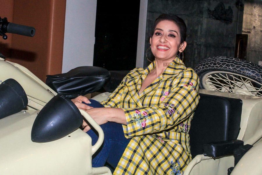 Manisha Koirala At The Sanju Promotions