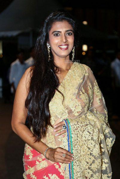 Kasthuri At The 65th Jio Filmfare Awards South 2018