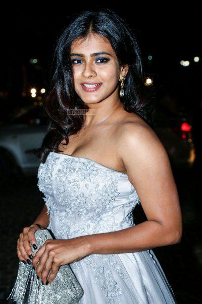 Hebah Patel At The 65th Jio Filmfare Awards South 2018