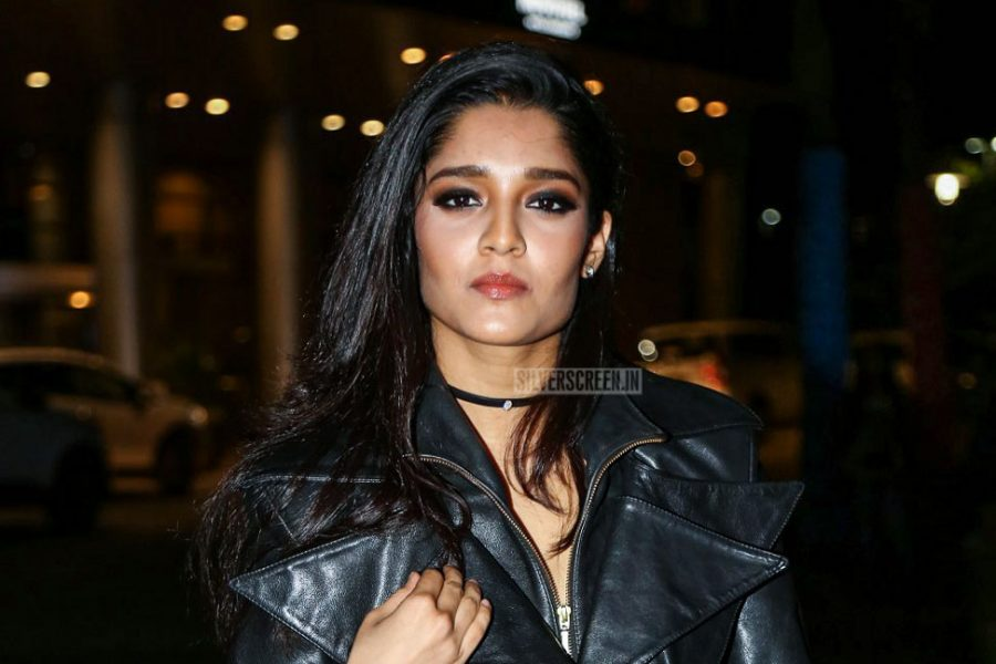Ritika Singh At The 65th Jio Filmfare Awards South 2018