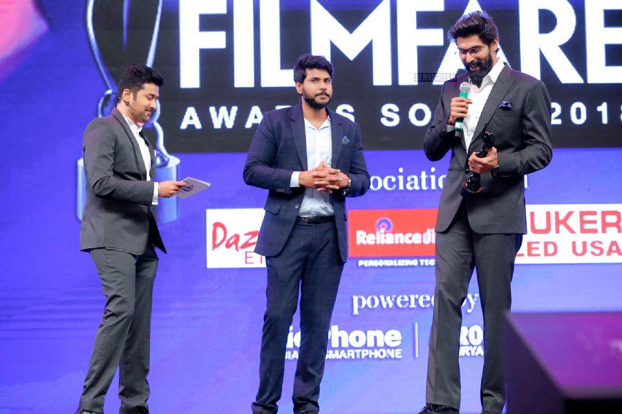 Ran Daggubati At The 65th Jio Filmfare Awards South 2018