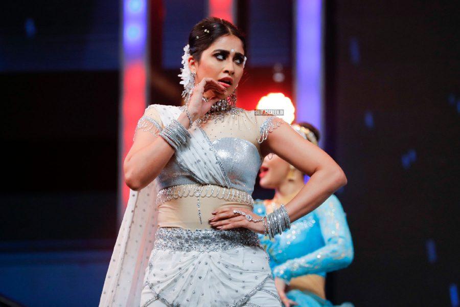 Regina Cassandra At The 65th Jio Filmfare Awards South 2018