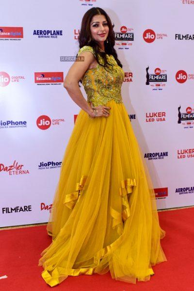 Bhumika At The 65th Jio Filmfare Awards South 2018