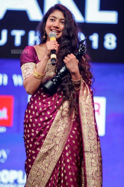 Sai Pallavi At The 65th Jio Filmfare Awards South 2018