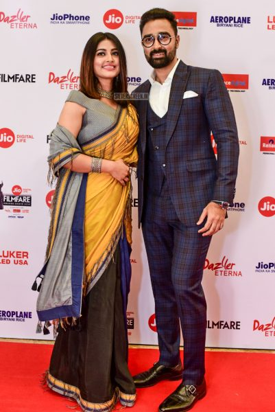 Sneha & Prasanna At The 65th Jio Filmfare Awards South 2018