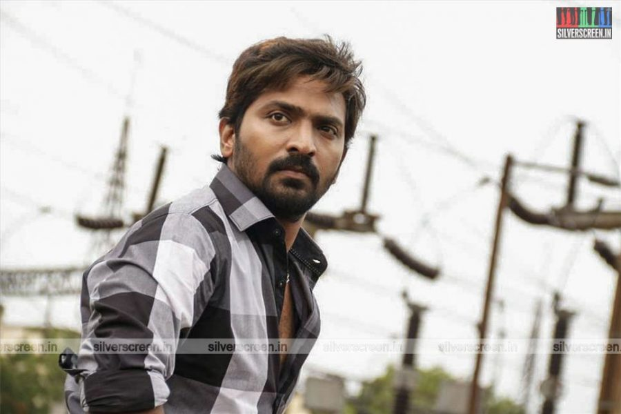 RK Nagar Movie Stills Starring Vaibhav, Anjena Kriti & Others