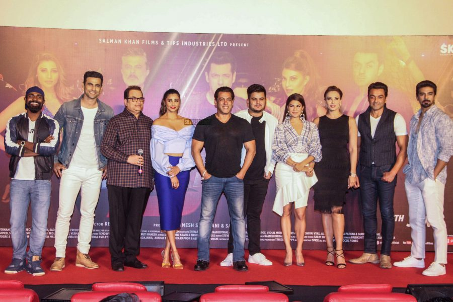 Salman Khan, Jacqueline Fernandez & Others At The Race 3 Song Launch