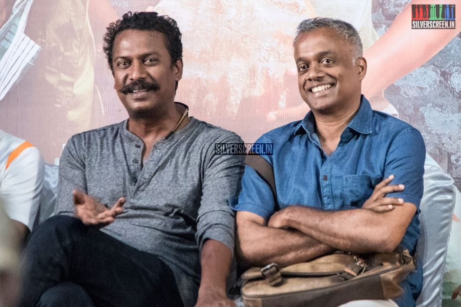 Samuthirakani, Gautham Menon At The Goli Soda 2 Press Meet