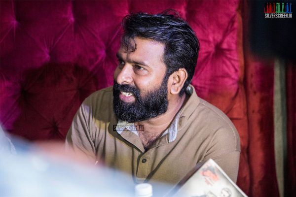 Santhosh Narayanan At The Launch Of 'Semma Weightu Menu'
