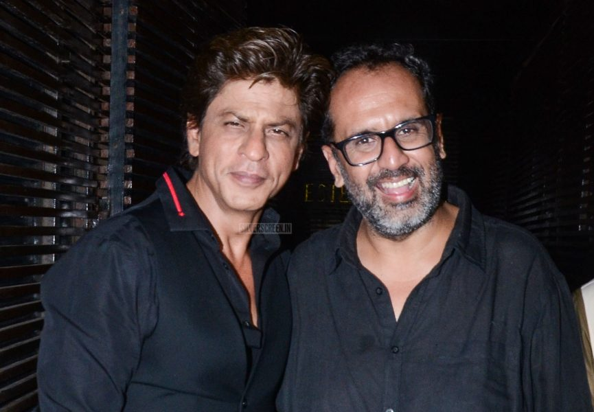Shah Rukh Khan At The Aanand L Rai's Birthday