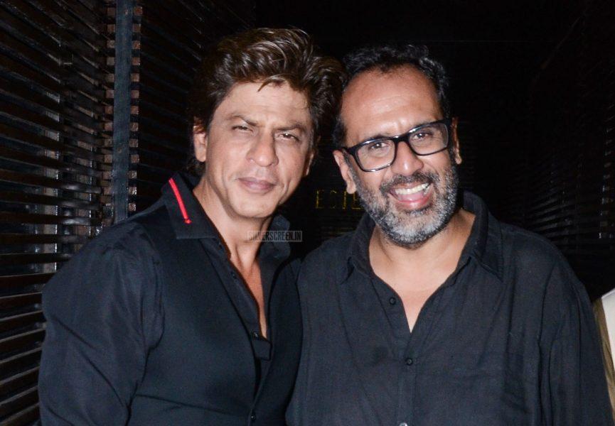 Shah Rukh Khan At The Aanand L Rai's Birthday