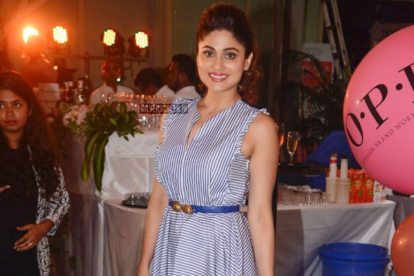 Shamita Shetty At A Product Launch In Mumbai