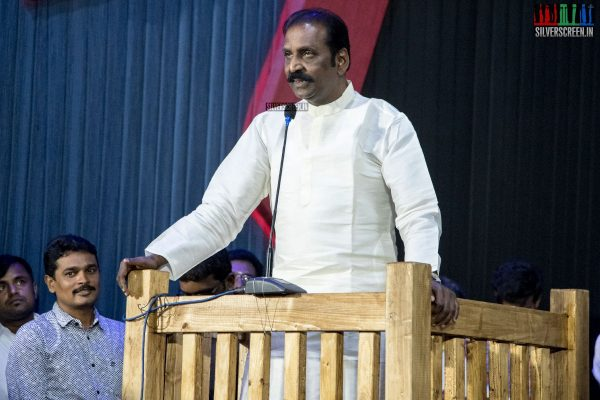 Vairamuthu At The Traffic Ramasamy Audio Launch