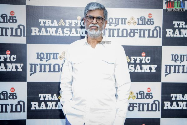 SA Chandrasekhar At The Traffic Ramasamy Audio Launch