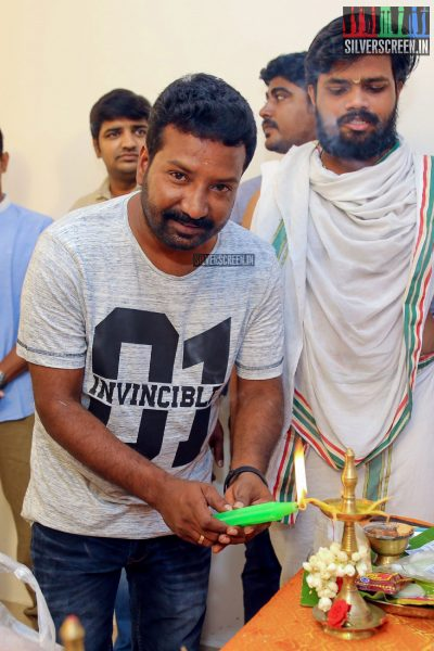 Siddharth, Catherine Tresa & Others At The Launch Of Trident Arts' New Production