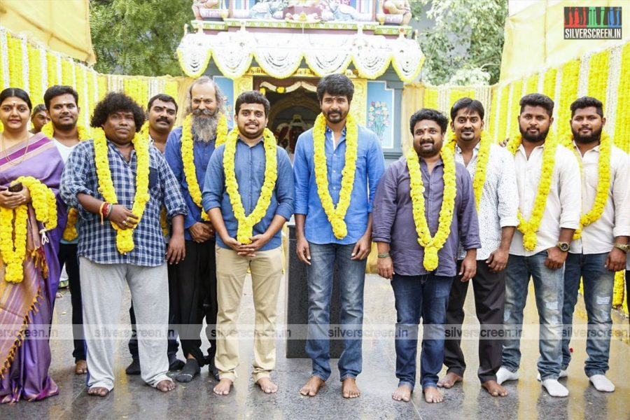 Sivakarthikeyan, Karunakaran, RD Raja Launch 24AM Studios' New Film