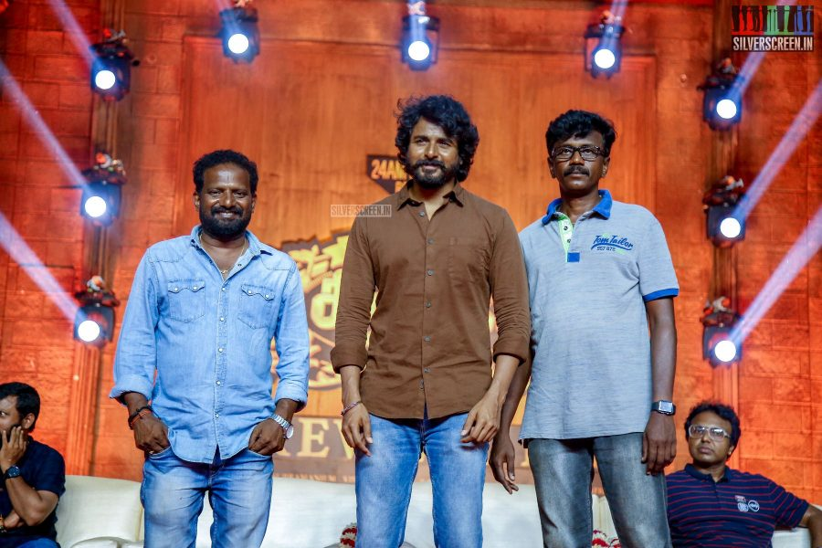 Sivakarthikeyan, Soori & The Cast Of Seemaraja Celebrate The Film's Wrap-Up
