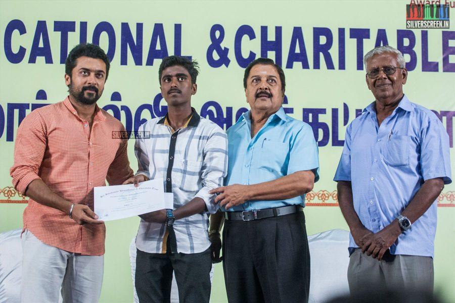 Suriya At The Sri Sivakumar Educational & Charitable Trust's 39th Award Ceremony