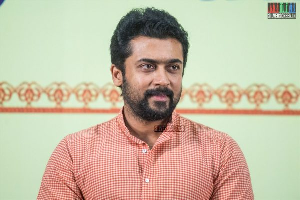 Suriya At The Sri Sivakumar Educational & Charitable Trust's 39th Award Ceremony