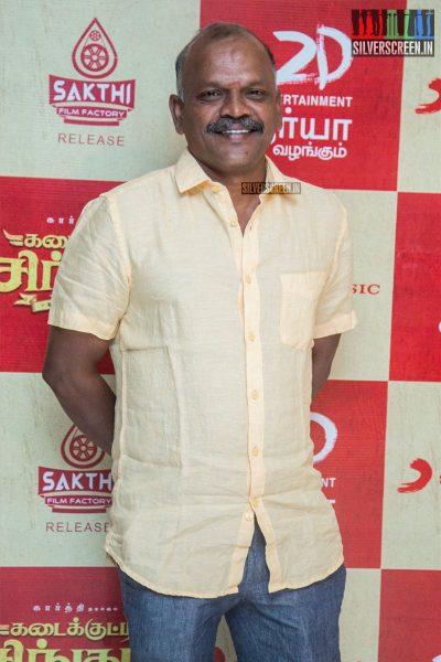 Velraj At The Kadaikutty Singam Audio Launch