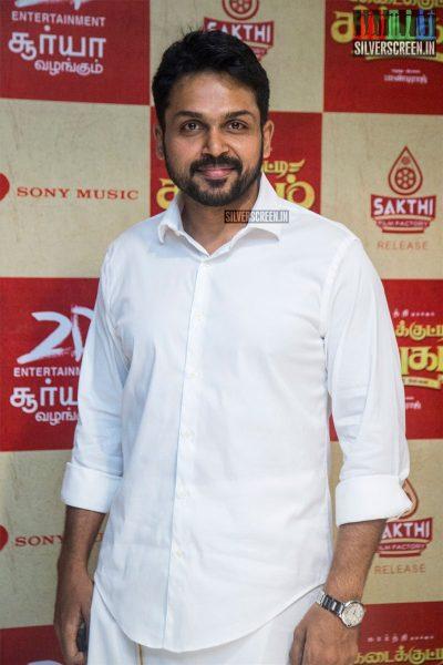 Karthi Sivakumar At The Kadaikutty Singam Audio Launch