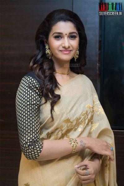 Priya Bhavani Shankar At The Kadaikutty Singam Audio Launch