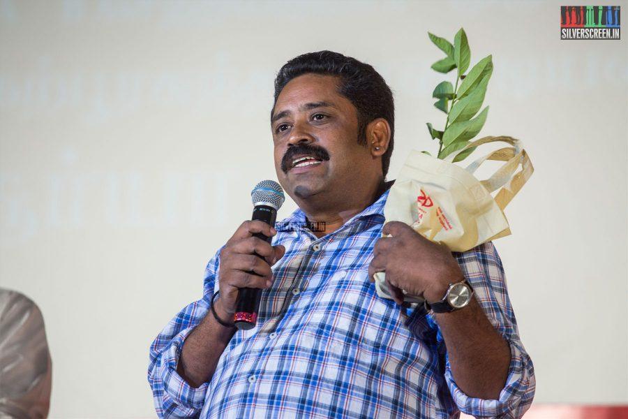 Seenu Ramasamy At The Kadaikutty Singam Audio Launch