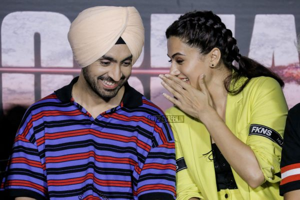 Taapsee Pannu At The Soorma Promotion