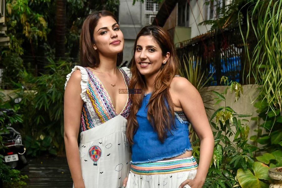 Rhea Chakraborty At The Launch Of A Fashion Label