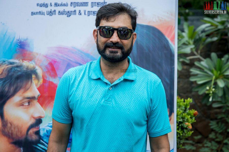 Aravind Akash At The RK Nagar Audio Launch