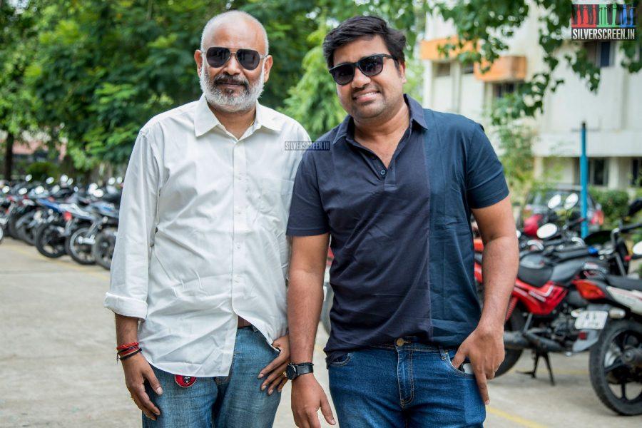 Venkat Prabhu & Shiva At The RK Nagar Audio Launch