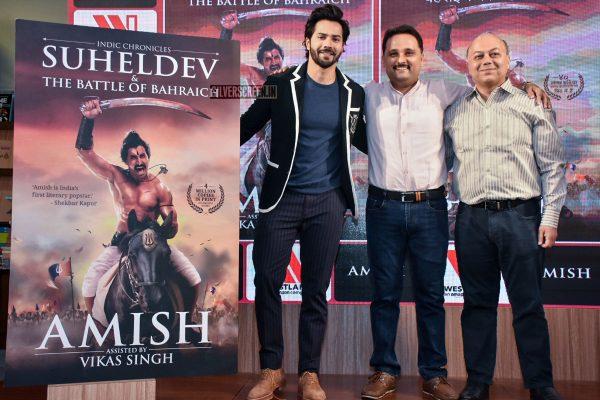 Varun Dhawan At A Book Launch