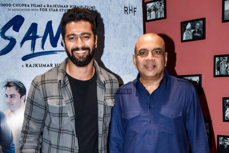 Vicky Kaushal & Paresh Rawal At The Sanju Movie Promotions
