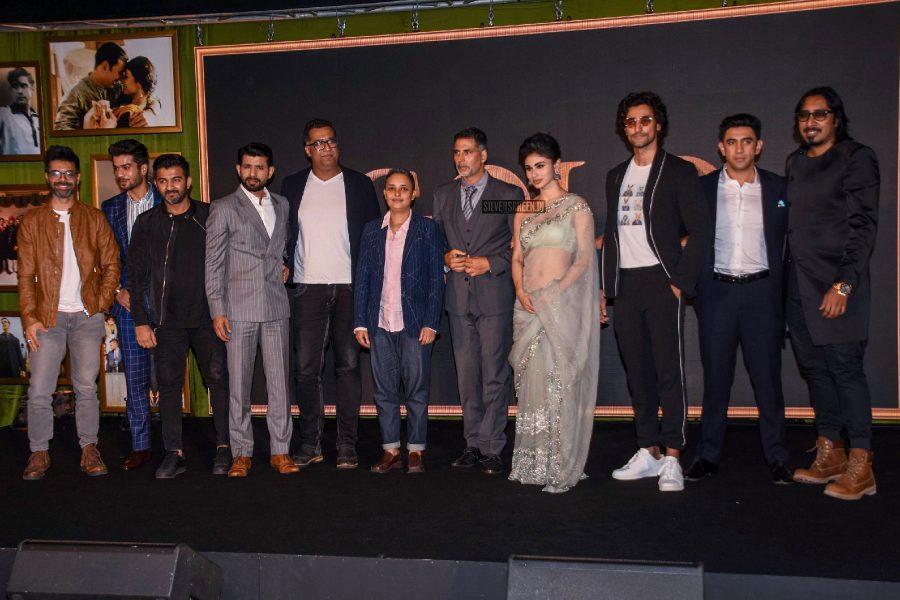 Akshay Kumar, Mouni Roy & Gold Team At Launch Of The Song 'Naino Ne Baandhi'