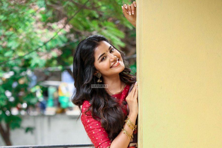 Anupama Parameswaran At The Tej I Love U Promotions