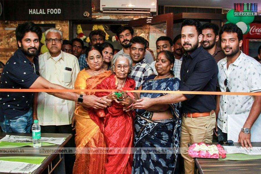 Bharath, Richard, Senthil And Others At A Restaurant Launch