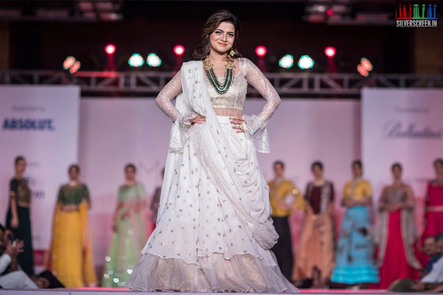 Dhivyadarshini At The Madras Couture Fashion Week Season 5 – Day 2