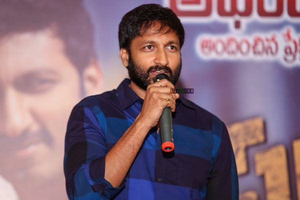 Gopichand And Mehreen Pirzada At The Pantham Success Meet
