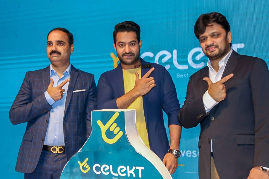 Junior NTR At The Launch Of A Mobile Phone