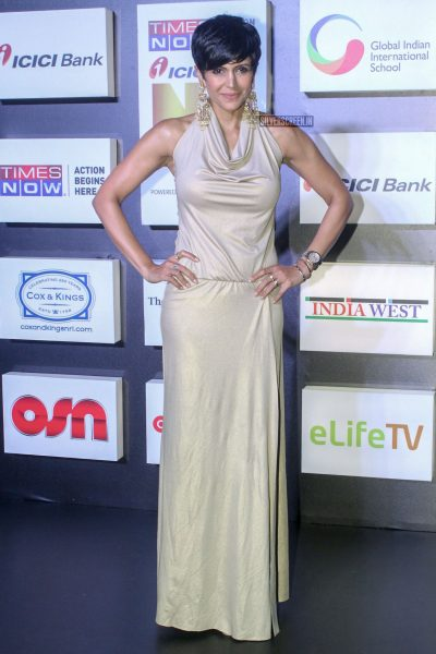 Mandira Bedi At An Awards Function