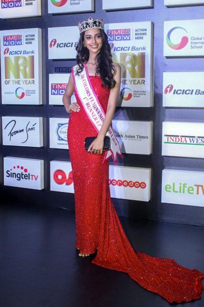 Anukreethy Vas  At An Awards Function