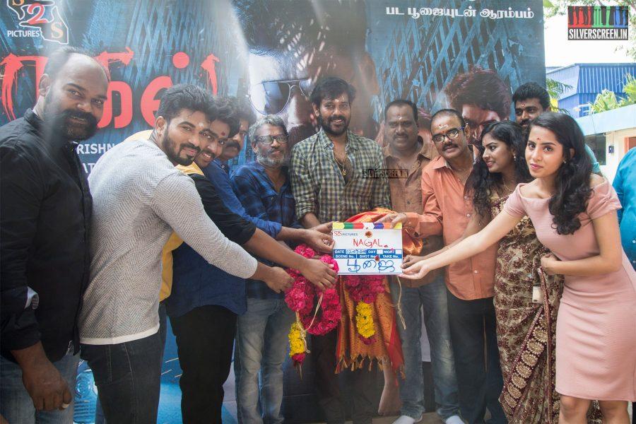 Natarajan Subramaniam At The Nagal Movie Launch