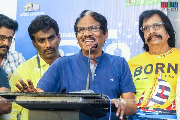 P Bharathiraja At The Om Teaser Launch