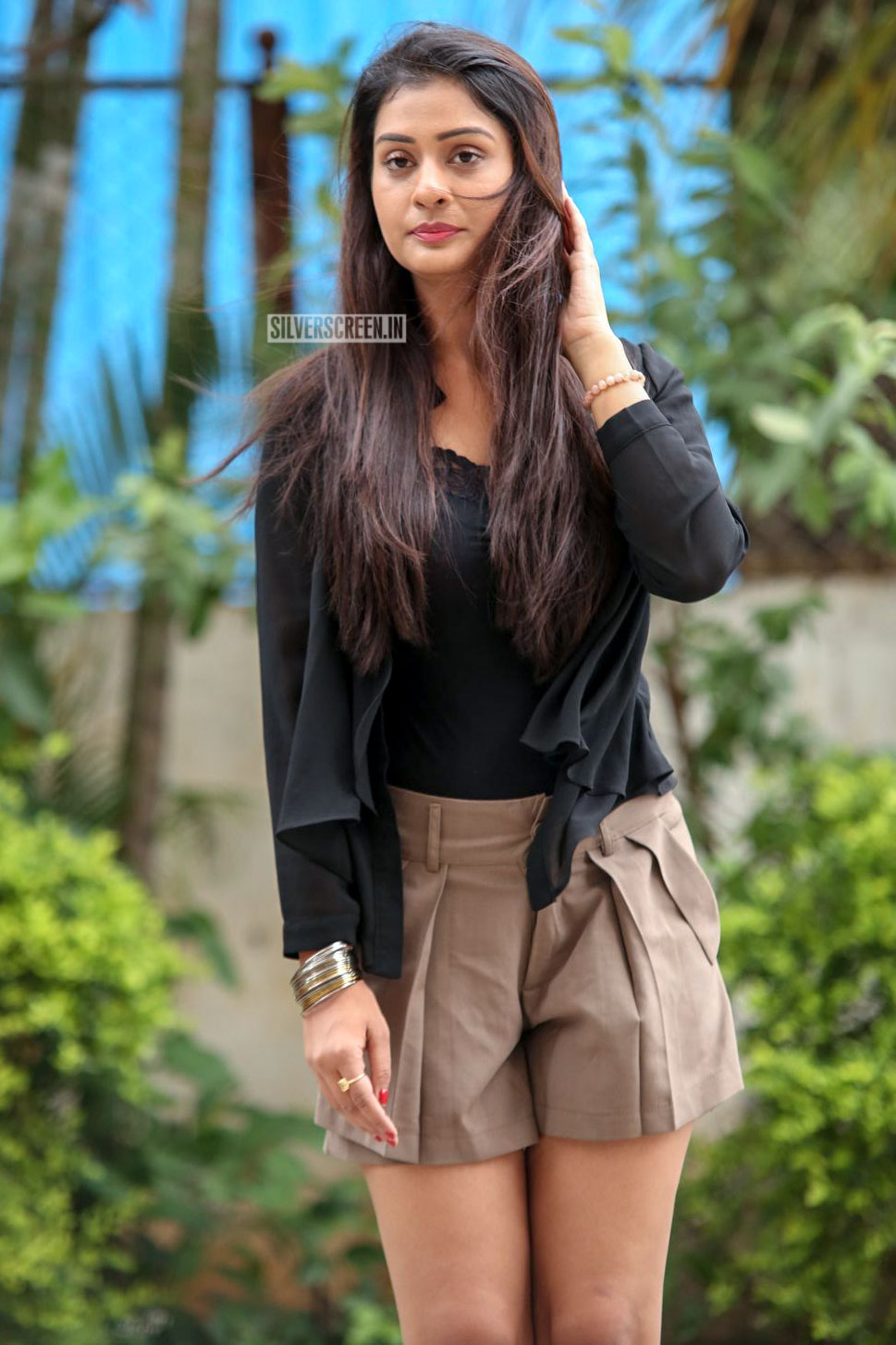 payal rajput promotes telugu film rx 100 in hyderabad
