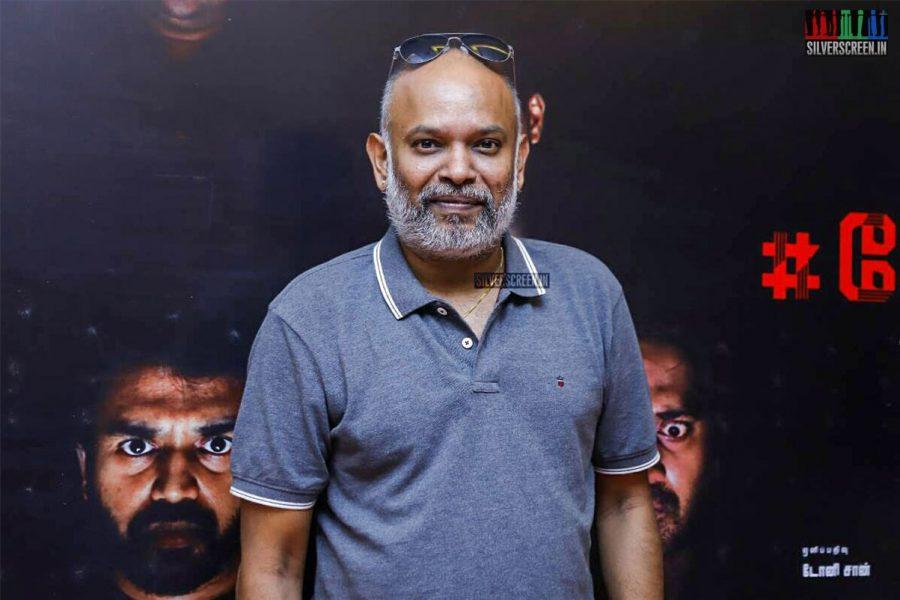 Venkat Prabhu at the #PeiPasi Audio Launch