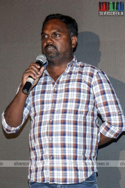 R Parthiban, Aditi Balan At The Kallachirippu Premiere
