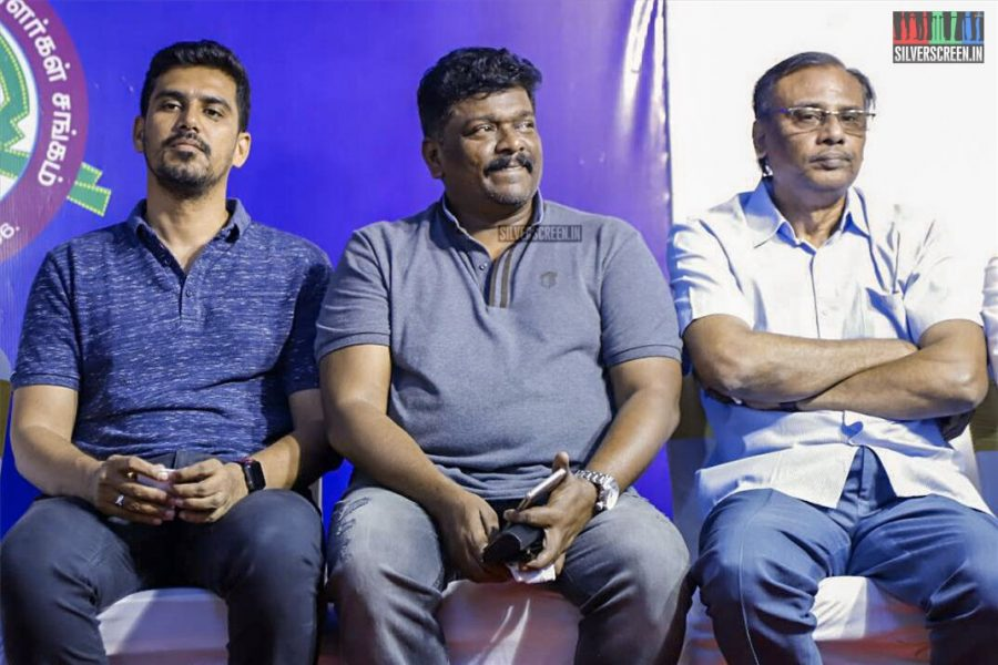 R Parthiban, SR Prabhu And Others At The Inauguration Of Microplex Studios