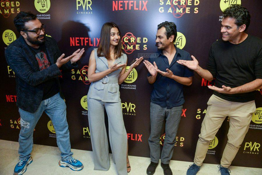 Radhika Apte, Nawazuddin Siddiqui Promotes Netflix's Sacred Games In Delhi