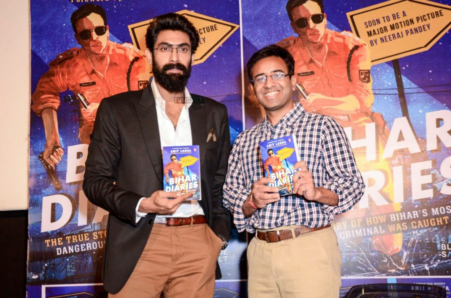 Rana Daggubati At A Book Launch